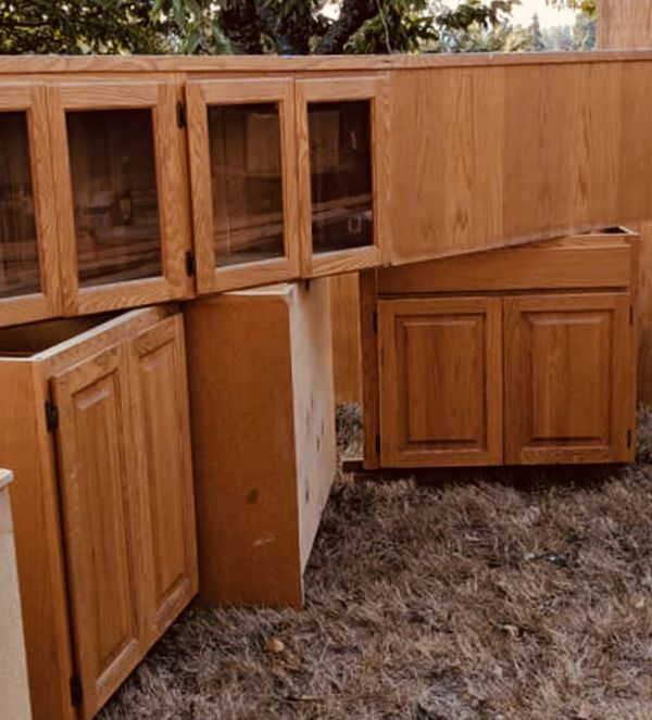 Oak Kitchen Cabinets For Sale: Kitchen Cabinets Oak Custom Full Set And Pantry For Sale