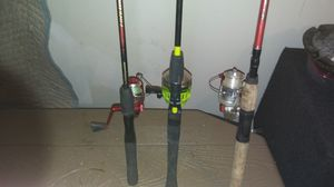 3 Fishing Poles for Sale in Nashville, TN