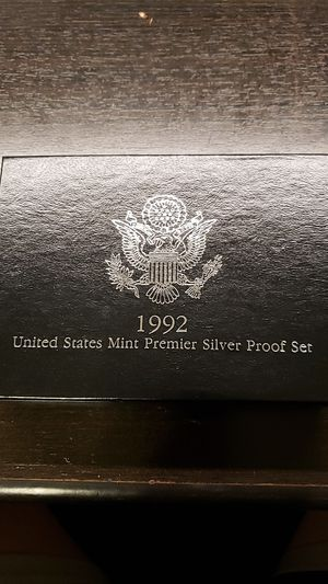 1992 US PREMIER SILVER PROOF SET for Sale in Spring Valley, CA