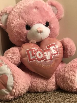 "Large Valentines Day ""Love"" Teddy Bear for Sale in Yorkville, IL"
