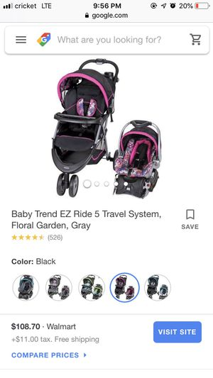 Baby trend infant car seat for Sale in McLoud, OK