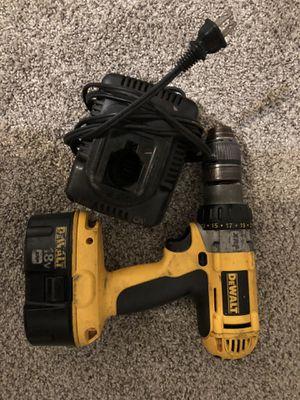 Dewalt 18v xrp drill, Battery and Charger Set for Sale in Midlothian, VA