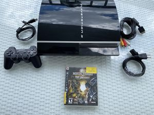 4.76 FIRMWARE 320gb Sony PS3 HDMI Video Game System Console CECHG01 for Sale in Coral Gables, FL