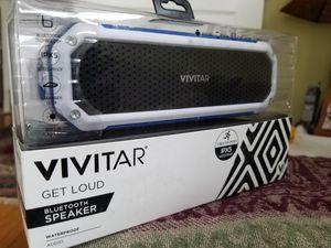 Vivitar Get Loud Bluetooth Weatherproof Speaker for Sale in Saint Paul, MN