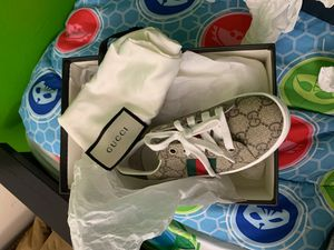 Gucci sneakers kids size 29 for Sale in Washington, DC