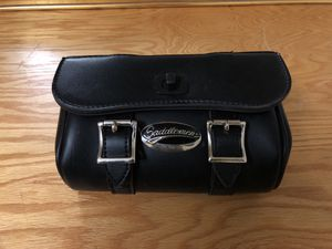 Saddle men motorcycle bag / tool roll for Sale in Chicago, IL
