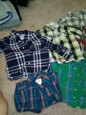 A total of 11 baby boy shirts for only 5$ for Sale in Rialto, CA