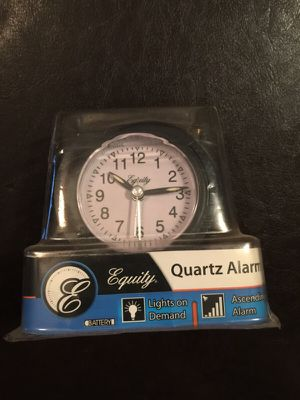 New with tags. Quartz Alarm clock for Sale in Norcross, GA