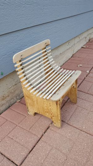 Small wooden chair for Sale in Littleton, CO