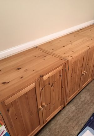 3 cabinets with 1 shelf inside for Sale in Fairfax, VA