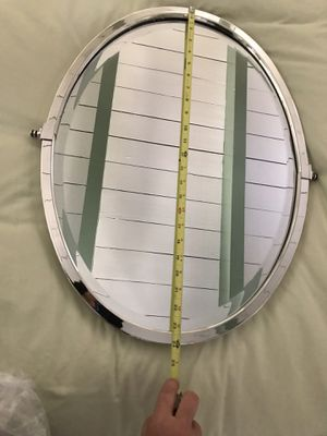 Brand new oval polished nickel rejuvenation vanity mirror for Sale in Los Angeles, CA