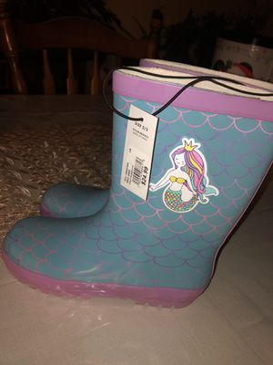 Mermaid rain boots for Sale in New Britain, CT