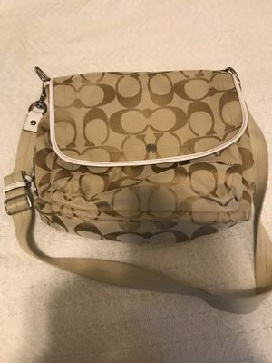 Authentic Coach messenger bag for Sale in New Milford, CT