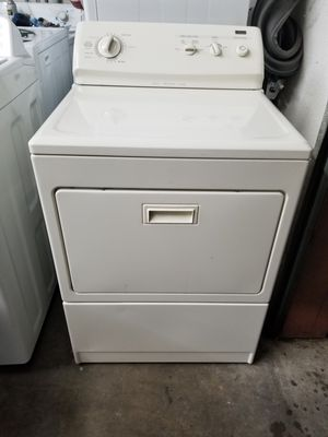 Kenmore electric dryer (color ivory) for Sale in The Colony, TX