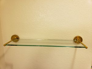 Glass wall shelves 2 sets for Sale in Las Vegas, NV