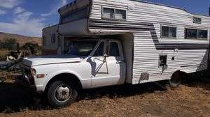 Vintage Chevy one ton camper/trailer for Sale in Yakima, WA
