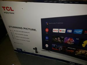 Element 55 inch or tcl brand new tv for Sale in Pittsburgh, PA