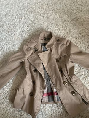 Woman's Burberry Brit Jacket for Sale in UPPER ARLNGTN, OH