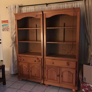 Two Bookshelves / Cabinets for Sale in Chula Vista, CA