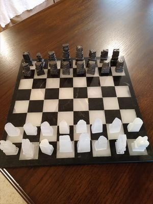 Aztec Marble Chess Set for Sale in Easley, SC