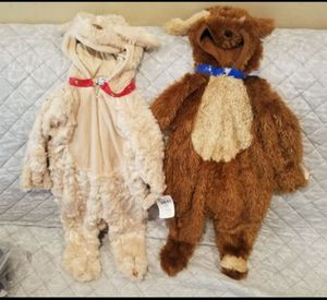Baby boy girl puppy Halloween costumes 6-9 mos for Sale in Jersey City, NJ