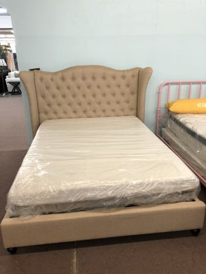 🎉Brand New Queen Size Bed Frame Only $299, No Credit Needed Finance for Sale in Sacramento, CA