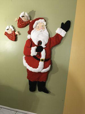 Felt Hand Made Santa and Elf's for Sale in Norwalk, CA