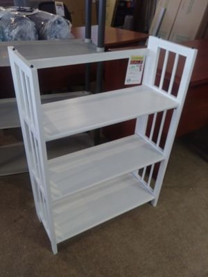 Small White Wood Display Shelf for Sale in Phoenix, AZ