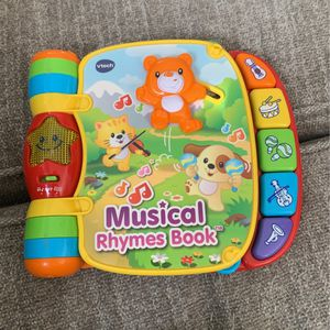 Vtech Musical Rhymes Book for Sale in Phoenix, AZ