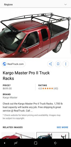 ladder rackk full size truck for Sale in Cleveland, OH