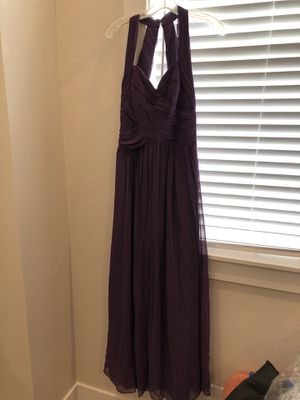 Bridesmaids or Prom Dress - Size 8 - Plum Color for Sale in Eagle, ID