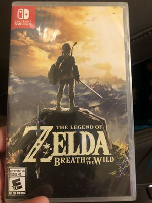 The legend of zelda breath of the wild for Sale in Egg Harbor City, NJ