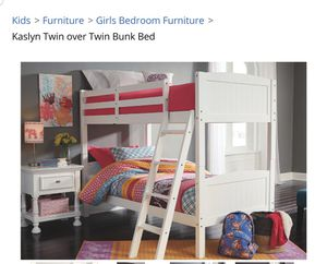 Ashely Bunk beds for Sale in Falls Church, VA