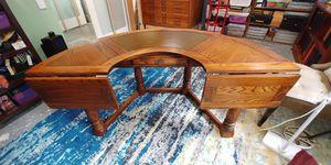 Oak wood desk for Sale in Leesburg, VA