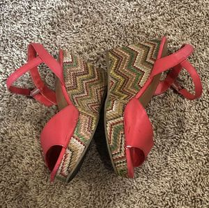 Mudd Coral Heels for Sale in Santa Ana, CA