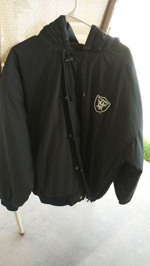 Vintage starter men's NFL football Oakland Raiders. Hoodie jacket extra large 1990s for Sale in Chandler, AZ