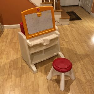Kids activity desk with stool for Sale in Westford, MA