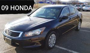 09 Honda Accord 130K for Sale in Roanoke, VA
