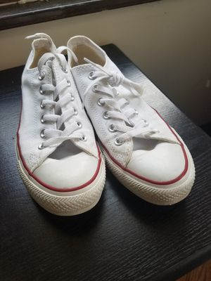 White Converse All Star Low Top for Sale in Philadelphia, PA