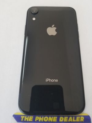 Unlocked iphone XR 64g black excellent clean imei for Sale in San Jose, CA