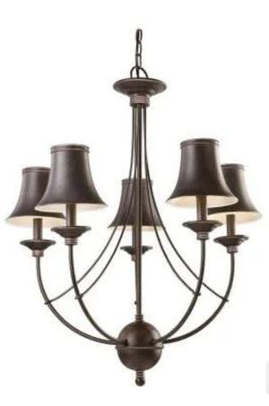 5 light chandelier for Sale in Port St. Lucie, FL