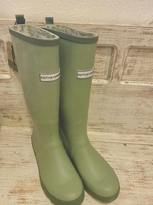Smith & Hawken - Women's Tall green Rain Boots for Sale in Aliso Viejo, CA