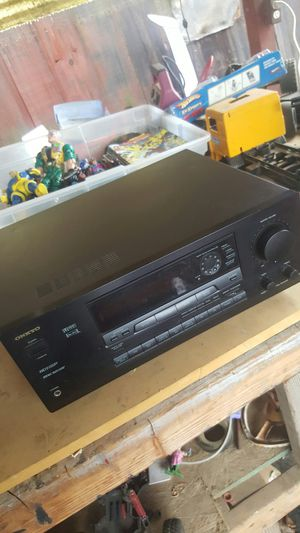 Onkyo receiver works great for Sale in Fresno, CA