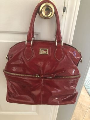 Dooney & Bourke Red Patent Bag Satchel (Buford) for Sale in Buford, GA