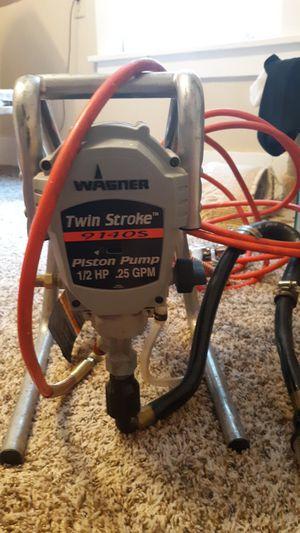 Paint sprayer~Wagner twin stroke piston pump for Sale in Lincoln, NE
