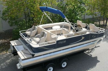 REDUCED-PRICE $1200$=2019 Pontoon 20 Grand Island G with Trailer!! for Sale in San Diego,  CA