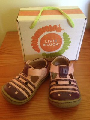Livie & Luca Zebra Toddler Pink Shoes for Sale, used for sale  Maywood, NJ