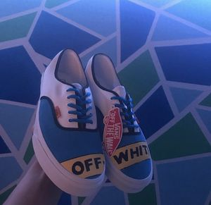 "Custom ""OFF"" White Vans Era Size 11.5 for Sale in Brighton, CO"