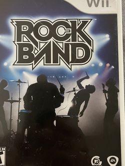 Rock Band Wii for Sale in Mountlake Terrace,  WA