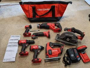 Craftsman Power Tool Set ( 11 piece) for Sale in Fort Wayne, IN